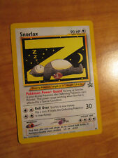 NM Pokemon SNORLAX Card BLACK STAR PROMO Set #49 Wizard of the Coast League WOTC