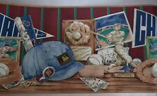 Village Mlb Major League Baseball Wallpaper Border 3 Rolls 45 Feet