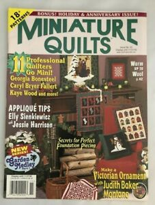 Quilts Magazine #50 Holiday Issue 2000    18+ Patterns