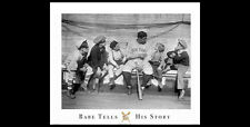 Babe Ruth New York Yankees BABE TELLS HIS STORY Black-and-White Classic POSTER