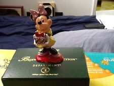 Disney Dept 56 Bejewelled Collection Minnie with Package