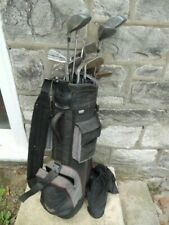 Datrek Golf Bag with 19 Clubs Irons & Putters Allied Royal Pro Select Right Hand
