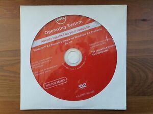 Original Genuine Dell Windows 8.1 Recovery Media 64-Bit Reinstallation DVD, 8, 7
