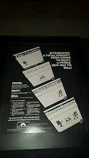 Eric Clapton Cream Rare Original Polydor Records Promo Poster Flyer Ad Framed!
