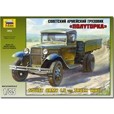 Zvezda 3602 ejército soviético 1.5 Ton Truck Wwii 1:35 Kit Modelo