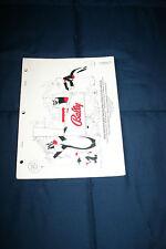 Bally Bugs Bunny Birthday Ball pinball machine manual (#Man077)