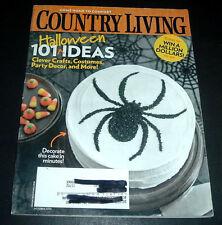 COUNTRY LIVING MAGAZINE ~OCTOBER 2009~ HALLOWEEN IDEAS~COSTUMES~DECOR~RECIPES+
