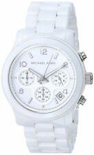 Michael Kors MK5161 Runway Ceramic White Watch for Women