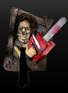 LEATHERFACE - TEXAS CHAINSAW MASSACRE * 1:1 FULL-LIFE-SIZE WALL DECO * NEW