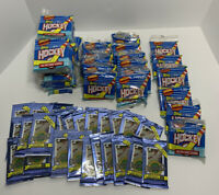Lot (61) 35 Sealed 1991 Topps Hockey 40ct Card Pack & 26 1991 Ultimate Draft NHL