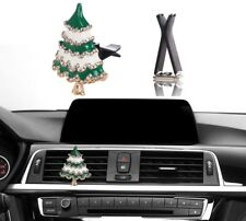 Bling Car Interior Accessories Rhinestone Diamond Christmas Tree Auto Decoration