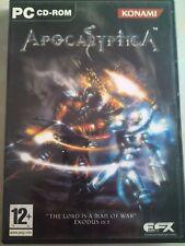 Apocalyptica pc juego de Konami