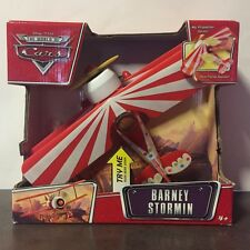"Disney Pixar Cars BARNEY STORMIN My Propeller Spins & Sounds! (11"" x 8"")"