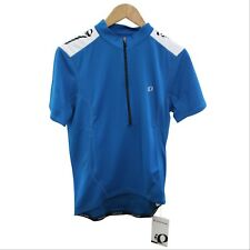 Pearl Izumi Cycling Jersey Men Quest Blue Bicycle Gear Bike Top S