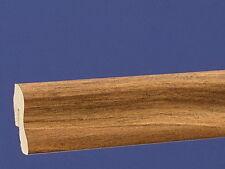 Sockelleiste 0,76 €/m clippfähig Länge 2,6 Meter Dekor Afrikanischer Nussbaum