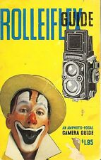 1950s ROLLEIFLEX TWIN REFLEX CAMERA GUIDE MANUAL by FOCAL -ROLLEI
