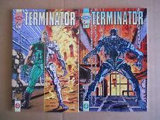 Collezione TERMINATOR MiniSerie 2 numeri Comix Vol.1+2 1992 Granata Press [G458]