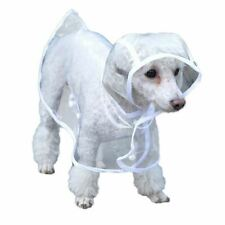 More details for bunty dog puppy pvc waterproof clear transparent rain coat jacket hood hooded