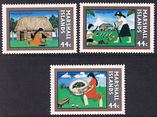 Marshall Islands Mint Stamps - Copra Industry 1987 SG136 to SG138