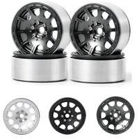 1/4 x 2.2'' Alloy Beadlock Wheels For RC 1/10 AXIAL Wraith SCX10 TRX4 Crawler