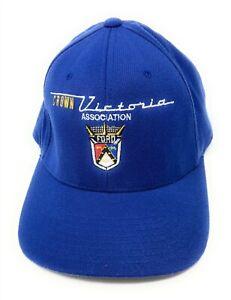 Ford Crown Victoria Association Hat Blue FlexFit L/XL Cap 1954, 55, 56 Crown Vic
