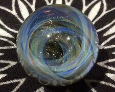 25 MM Cosmic Chaos Vortex Hand Made Contemporary Borosilicate Art Glass Marble