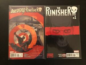 Daredevil/Punisher Collection Lot Set Run 30-15