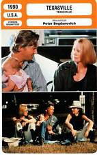 FICHE CINEMA : TEXASVILLE - Bridges,Shepherd,Bogdanovich 1990