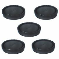 5 PCS  Rear Lens Cap Cover Protector for Sony E-mount NEX NEX-5 NEX-3 5R a5000