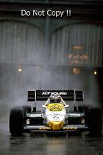 Keke Rosberg Williams FW09 Monaco Grand Prix 1984 Photograph 2