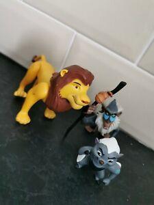 Disney Lion King Action Figures Simba Rafiki & Bungar Lion Gaurd