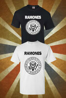 The Ramones American Punk Rock Band T-SHIRT CONCERT TSHIRT UNISEX MEN WOMEN 156