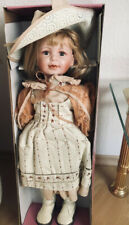 Porzellanpuppe Adelie Creation Paris, Limitierte Auflage, Sammlerpuppe mit Echth