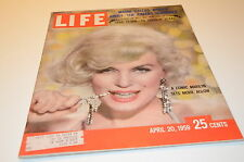 Life Magazine Marilyn Monroe Cover Lot of 4 Ads Fashion Movie Actress Churchill
