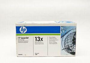 Genuine OEM HP 13X Q2613X Color Black Toner Cartridge for LaserJet 1300 *SEALED*