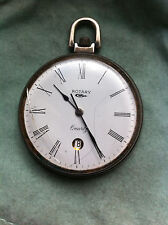 MONTRE GOUSSET BOITIER ACIER - QUARTZ - Old Pocket Watch doesn't tick. VINTAGE