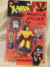 X-Men Marvel Monster Armor Wolverine Action Figure Toy Biz 1997