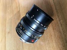 Leica M Summicron 50 mm F/2.0 MF lente (negro)