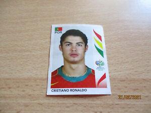 Panini WM 2006 Germany Sticker Nr. 298 Cristiano Ronaldo WC Rookie *TOP RAR*