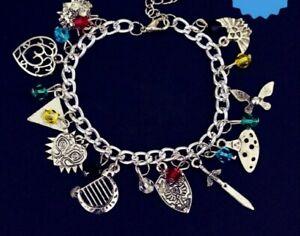 ZELDA Warrior Princess Trefoil Charm Bracelet Girls Boys Ladies Gift Pouch UK
