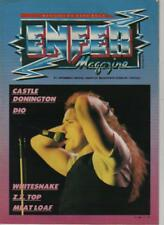 enfer magazine n° 5 septembre 1983 zz top / whitesnake / dio