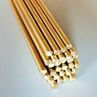 """Diameter Brass Round Rod Bar 50 600mm Long 100 150 1//8/"""" 3.2mm 300"""
