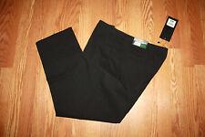 NWT Womens MARIO SERRANI ITALY Black Slim Pencil Ankle Dress Pants Slacks 8 X 30