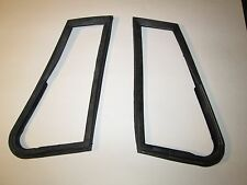 Pair of New Vent Window Seals Quarter Glass Seals for MGB 1963-80 Roadster