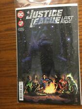 Justice League Last Ride 3 3A main cover Dc Comics New 2021