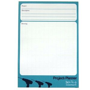A5 Project / Gardening / Decoration Planner - 50 sheets per pad - Double sided