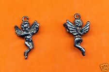 20 wholesale lead free pewter angel charms 1065