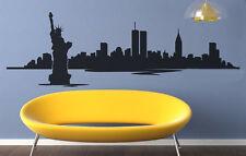 VINILO DECORATIVO PARA PARED CALIDAD EXTRA -NEW YORK SKYLINE-