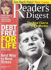 Magazine Reader's Digest March 2005 Halle Berry JFK 03 Debt Free for Life New
