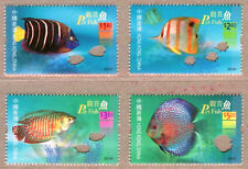 Hong Kong 2003 Pet Fish Stamps